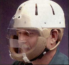 Danmar Hard Shell Helmet With Face Guard