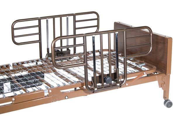 More Information - Half Length Side-Rail For Drive Medical Hospital Beds