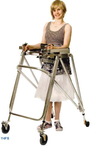 Kaye Anterior Support Walker With Forearm Supports
