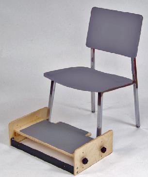 Theradapt Adjustable Foot Stool For Kids