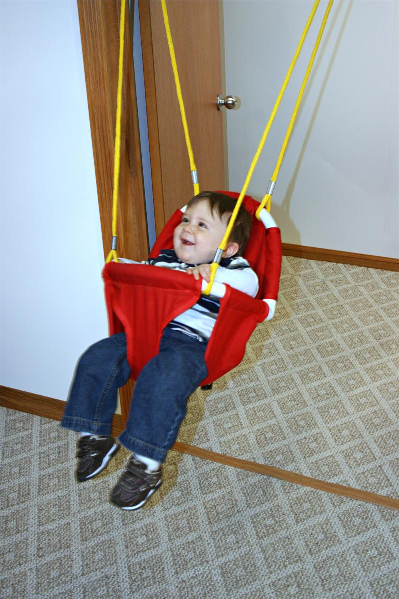 Rainy Day Indoor Infant Toddler Swing