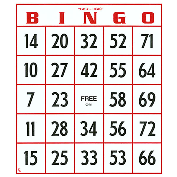 It is a photo of Exceptional Free Printable Bingo Cards 1 75