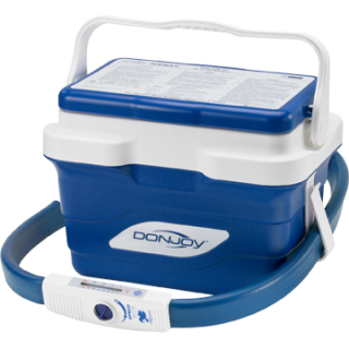 Donjoy iceman classic with universal cold pads for Motorized cold therapy unit