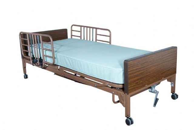 Half Length Hospital Bed Rail Free Shipping