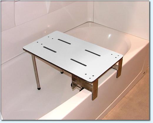 Ada Compliant Portable Clamp On Tub Seat