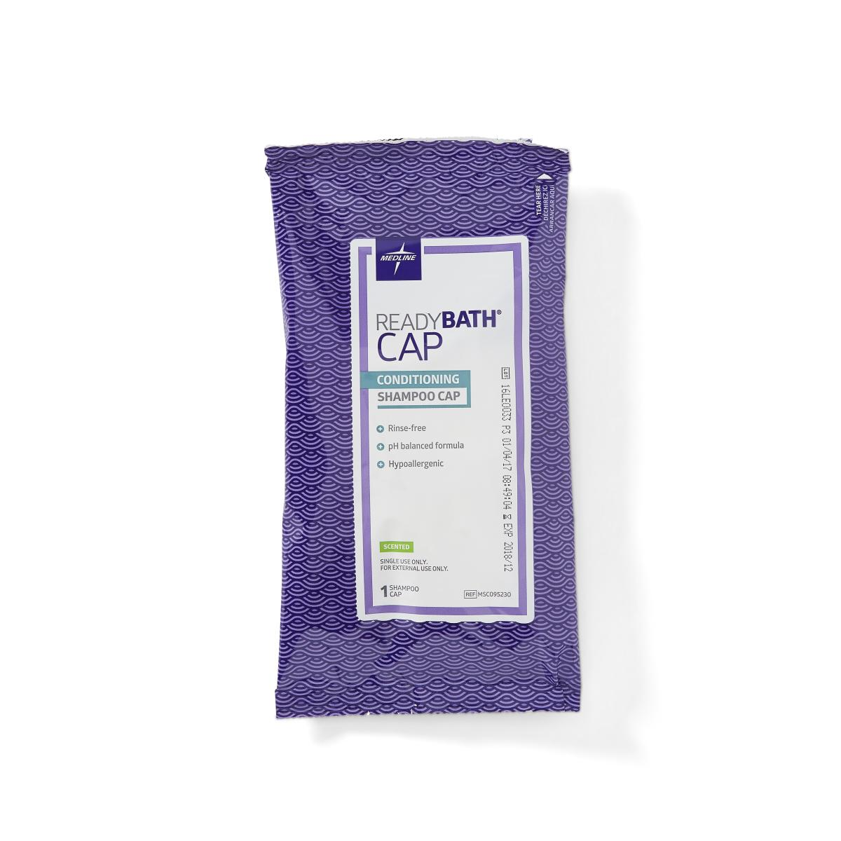 Readybath Shampoo Caps By Medline Free Shipping
