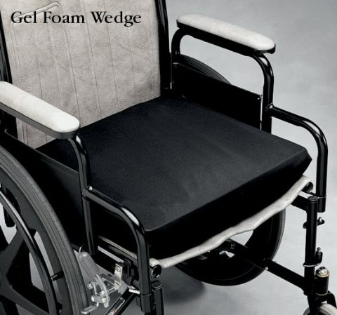 Ultra Gel Pressure Relief Wheelchair Cushion Wedge