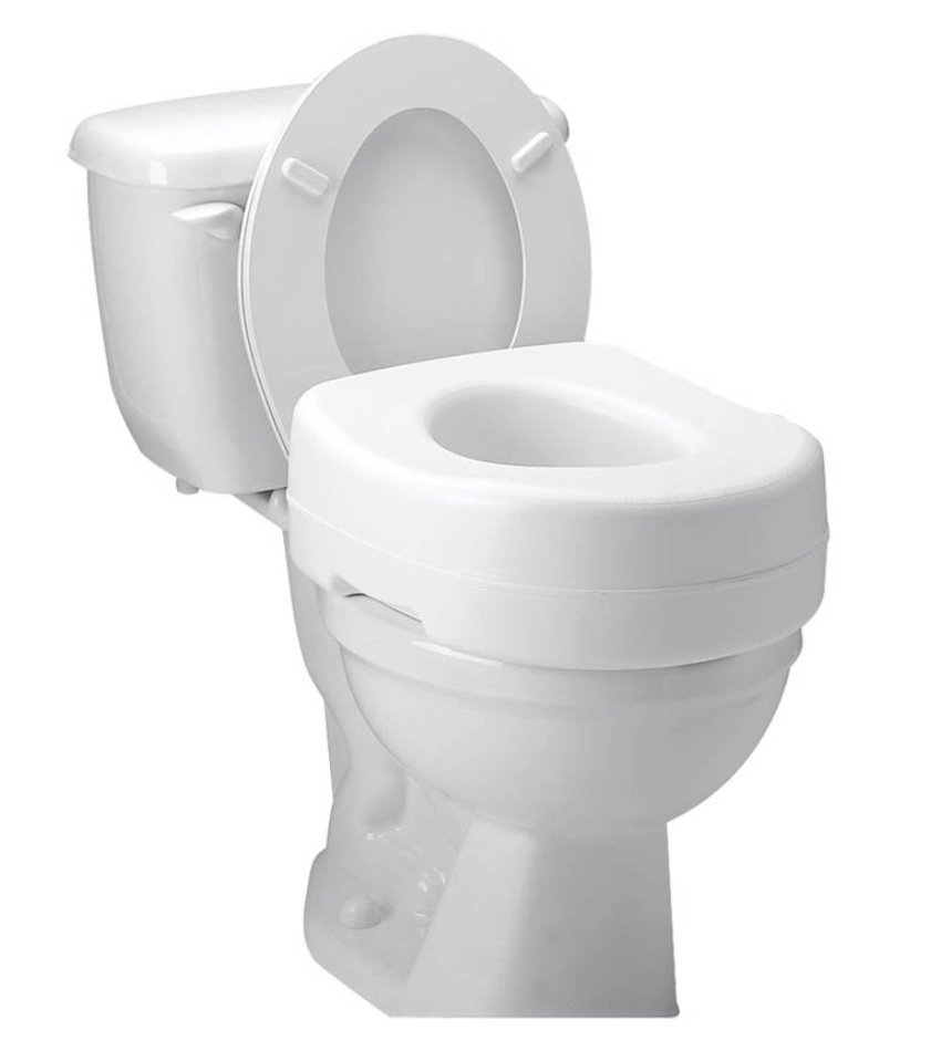 Carex Raised Toilet Seat For Sale Free Shipping