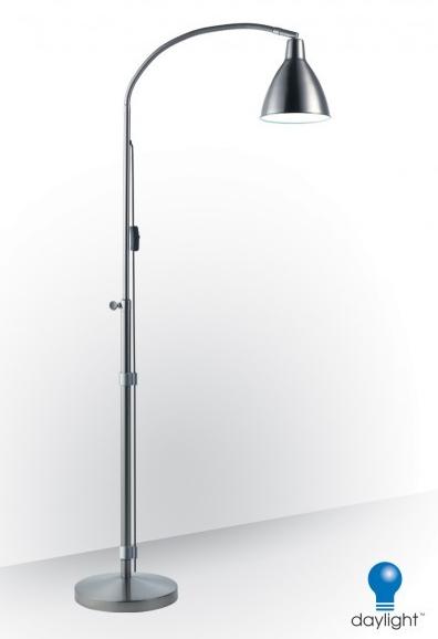 Daylight Flexi Vision Led Swivel Floor Lamp For Low Vision