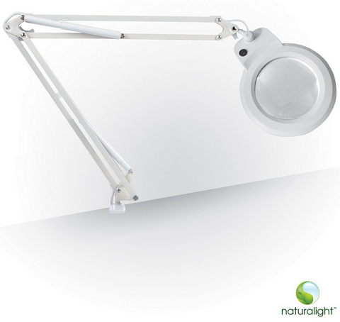 Daylight Magnifying Lamps and Magnifiers : The Silver ...