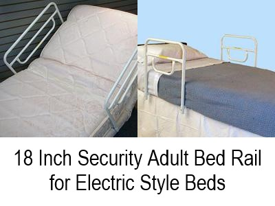 18 Inch Security Adult Bed Rail For Electric Style Beds