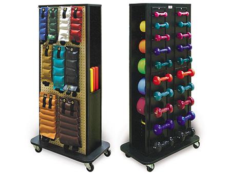 hausmann econo mobile weight rack