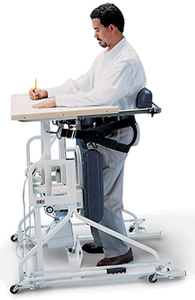 Hausmann Hi Lo Stand In Table With Electric Patient Lift