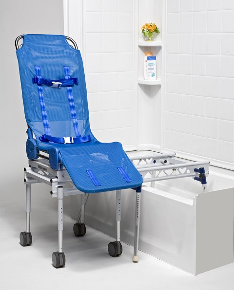 Elite Rolling Shower Chair