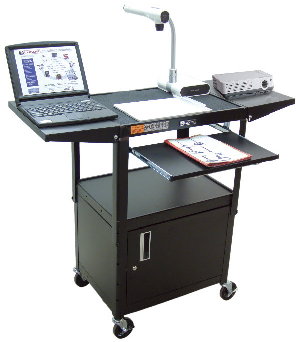 Duraweld Adjustable Height Carts with Cabinets