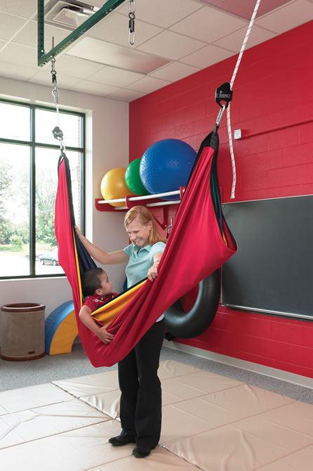 acrobat swing hammock for play therapy or calming