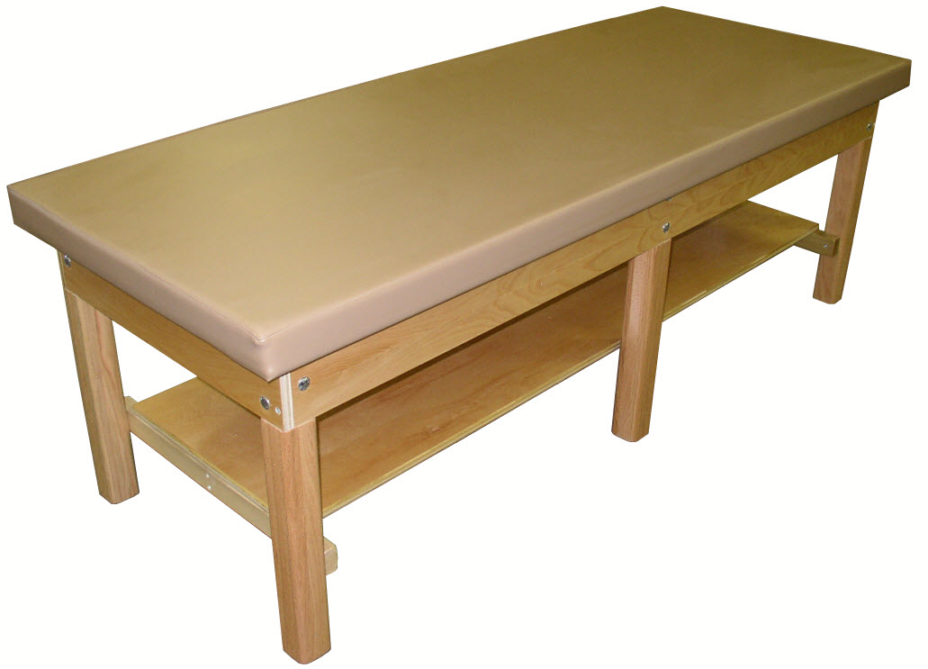 Bariatric Treatment Table With Plain Shelf