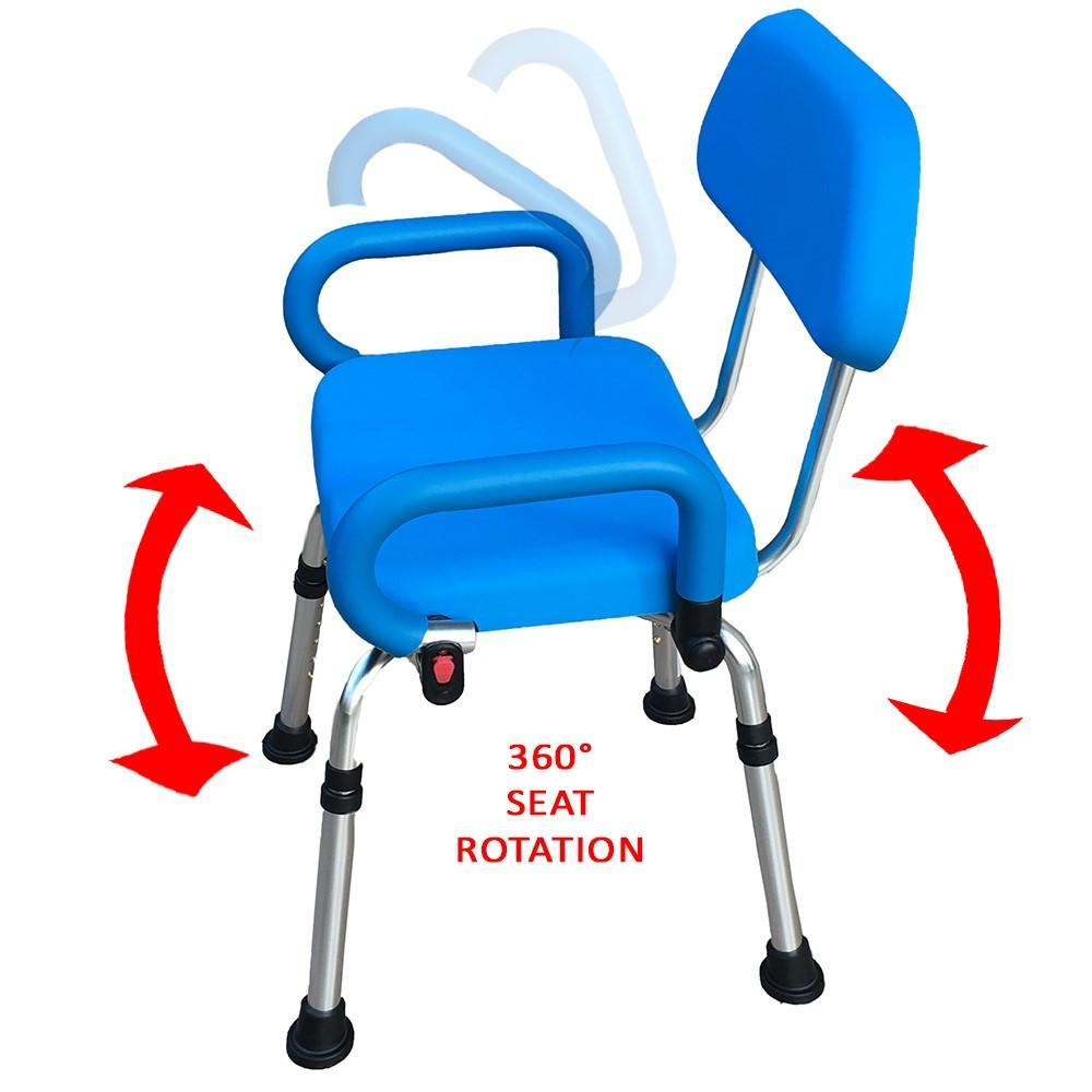 Platinum Health Revolution Swivel Shower Chair