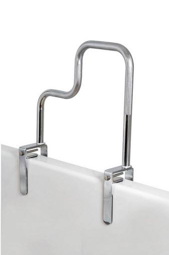 Tri Grip Non Scratching Bathtub Grip Rail