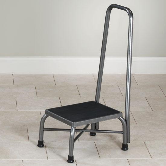Clinton Bariatric Step Stool With Handrail