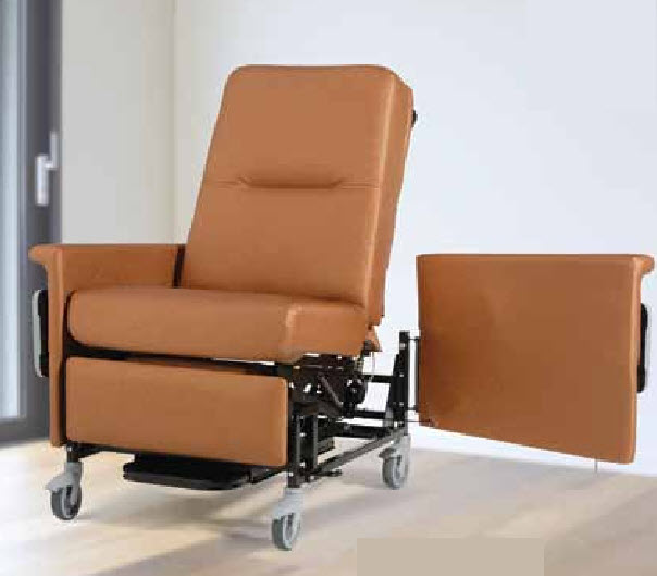 Champion 86 XL Series Bariatric Treatment Recliner And Transporter