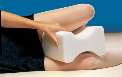 Contoured Leg And Knee Pillow
