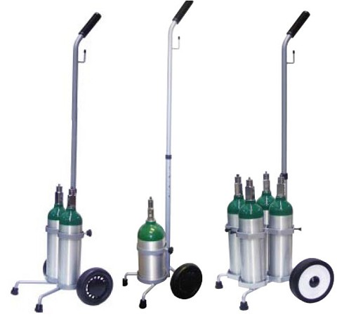 Portable Oxygen Cylinder Carts On Sale Free Shipping