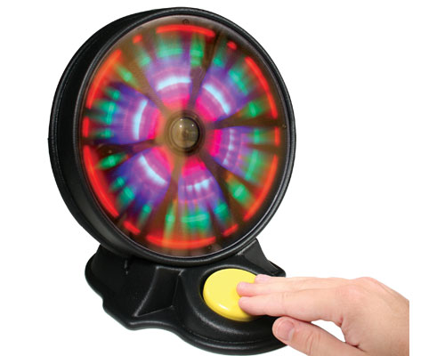 magical light show assistive technology switch toy