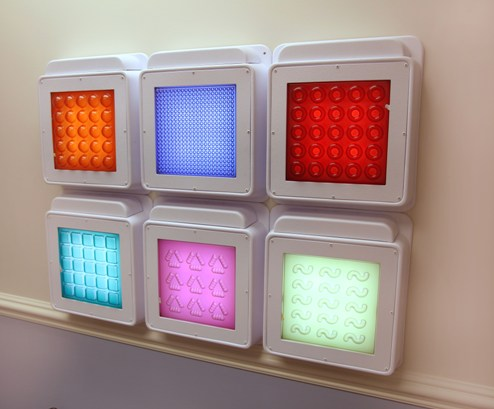 Textured Wall Mounted Touch Light Panels