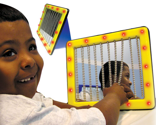 Tactile Learning Toys : Peek a boo sensory mirror switch free shipping