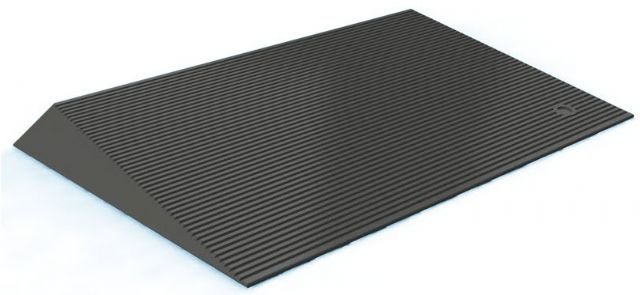 Recycled Rubber Threshold Wheelchair Ramp