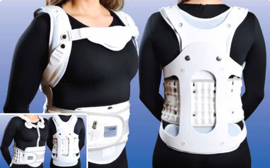 Expander Thoracolumbosacral Orthosis Tlso Back Support Brace
