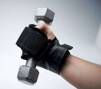 Ex-R GRIP Hand Wrap for Hand Physical Therapy Exercises