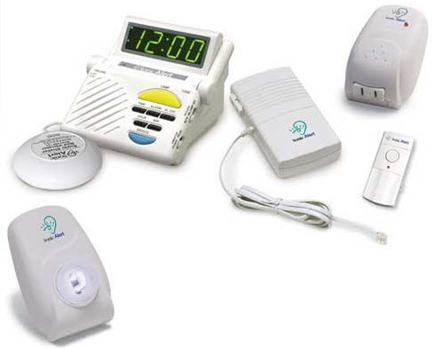 Sonic Alert Signaling System With Alarm Clock