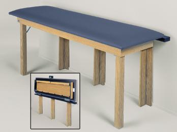 Hausmann Wall Folding Treatment Changing Table