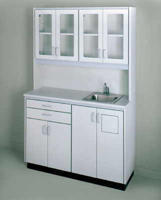 Hausmann Free Standing Cabinet Unit With Sink