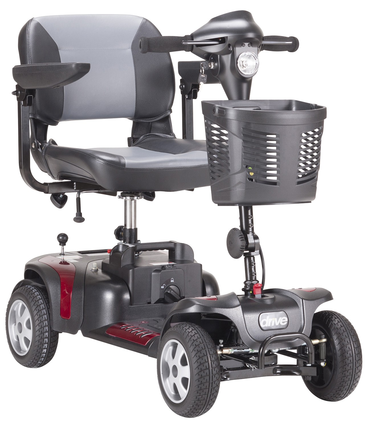 Phoenix hd4 4 wheel heavy duty travel scooter for Motorized carts for seniors