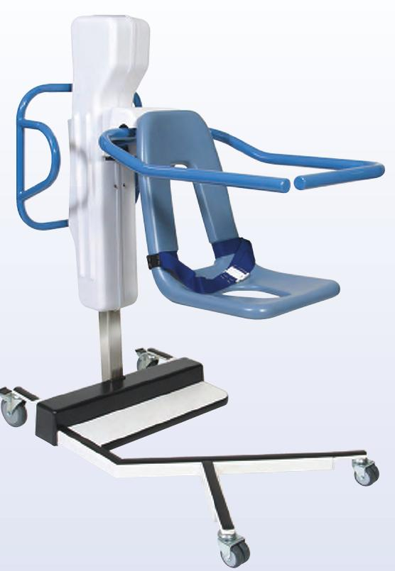Hydraulic Medical Lift Chair : Series k base seat lift transporter