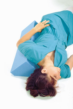 Body Aligner Positioner Pillow with Cover