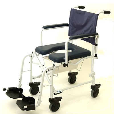 Padded Seat Assembly for Mariner Rehab Shower Commode Chair. Mariner Rehab Shower Commode Chair