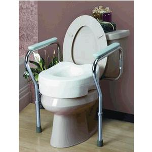 Cardinal Health Toilet Seat Safety Frame
