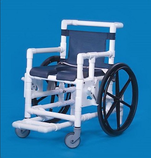 Deluxe Open Front Soft Seat Shower Access Chair