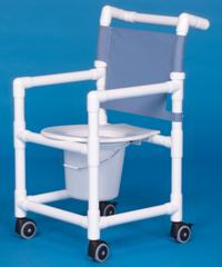 Mid-Size Shower Chair Commode