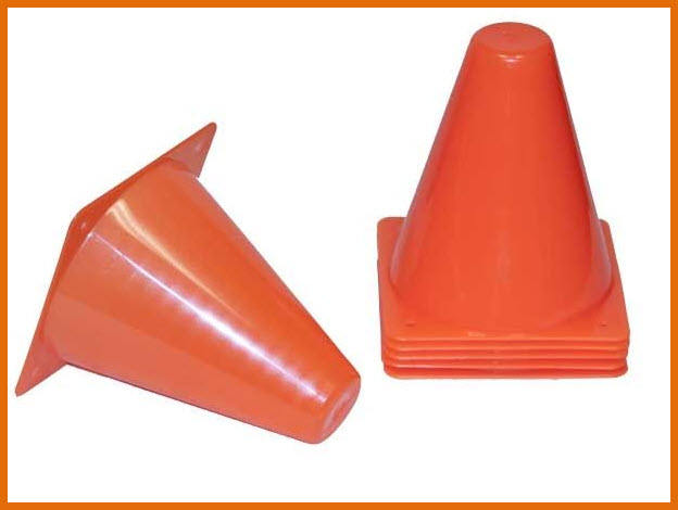 Agility Training Cones Set Of 6