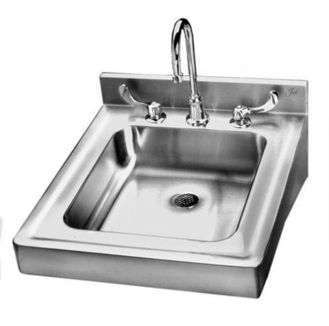 Stainless Steel Wall Hung Sink With Overflow