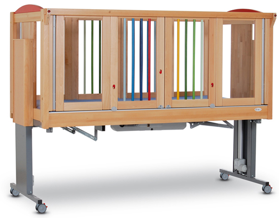 Ida Safety Bed With Fully Electric Height And Positional