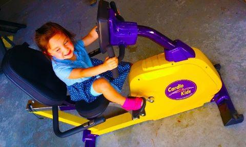 Kids Fully Recumbent Bike Super Small Size By Kidsfit