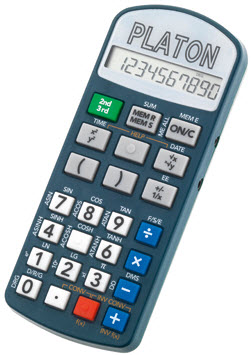 Platon Talking Scientific Calculator - FREE Shipping