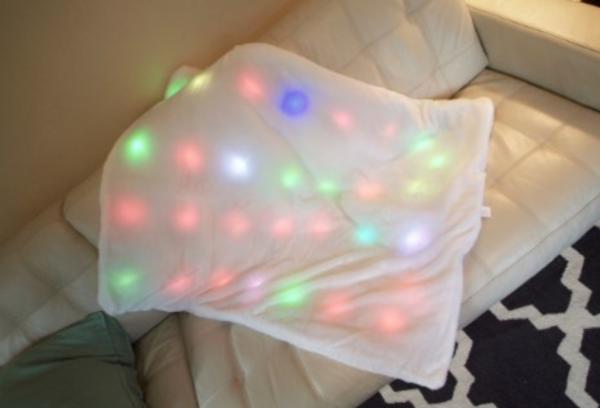 LED Multi-Sensory Light-Up Blanket