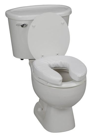Vinyl Cushion Toilet Seat